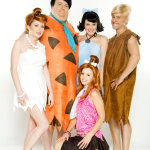 The Flintstones XXX poster