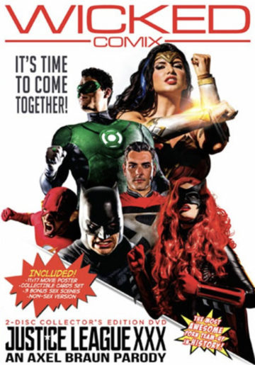 Justice League Porn Parody