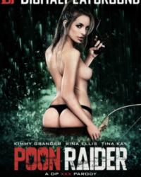 Poon Raider- Official XXX Parody cover