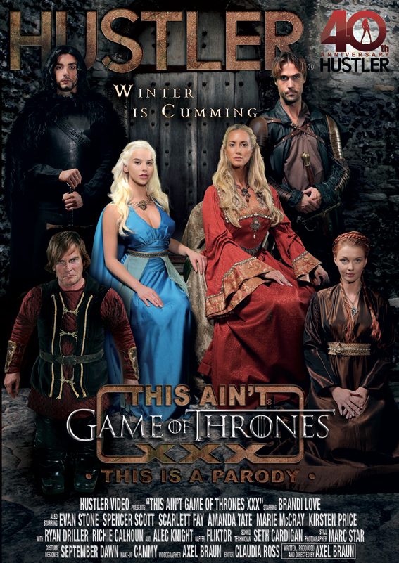 Game of thrones parody porn